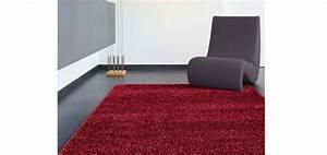 tapis moderne rouge commandez nos tapis modernes rouges With tapis shaggy avec canapé usine center