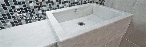 how to clean a composite sink consumer stone care how to clean composite sinks