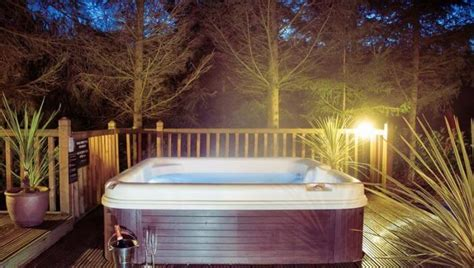 Forest Lodge With Tub by Luxurious Tub Holidays Cheshire Find Out More And