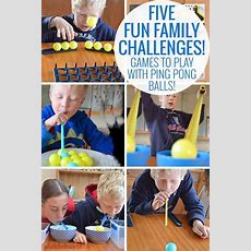Five Fun Family Challenges  Plays, To Play And Challenges