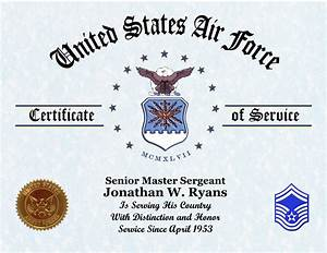 26 images of af award template infovianet With air force certificate of appreciation template