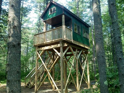 building loft stairs custom deer stands cabins wisconsin landcrafters