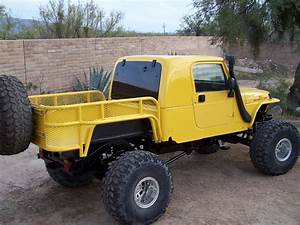 Love this custom 4x4 Jeep pickup | Luv those 4X4 ...