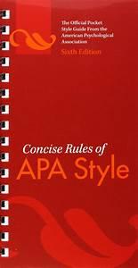 Apa Manual 6th Edition Pdf