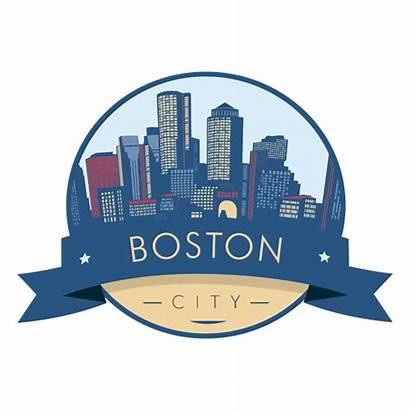 Boston Skyline Badge Silhouette Buffalo Ny Transparent