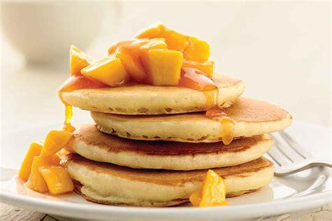 rising light  fluffy pancakes recipe king arthur