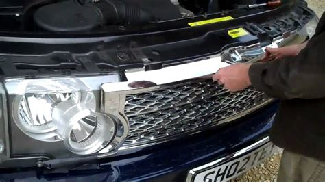 fit  face lift style front grill  range rover