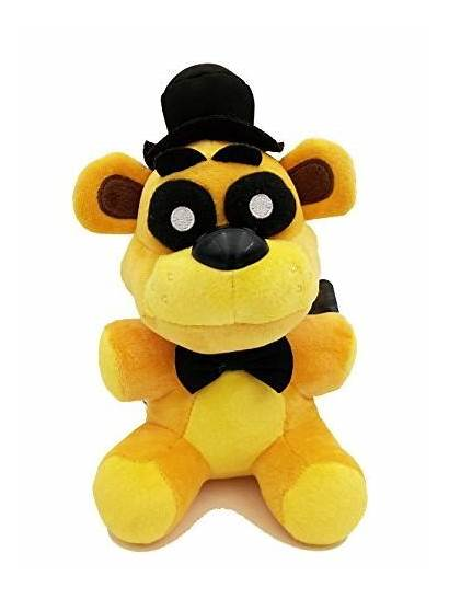 Freddy Golden Plush Bear Collectible Gift Toy