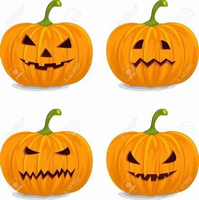 Pumpkins Halloween Clipart Pumpkin Decorating Faces Drawing