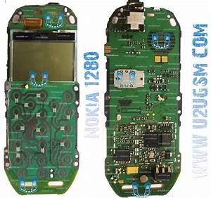Nokia 1280 Full Pcb Diagram Mother Board Layout