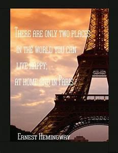Inspirational Q... Inspirational Paris Quotes