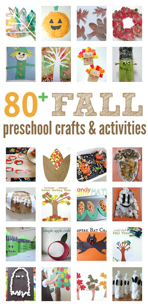 fall craft ideas for preschool activities amp book lists 543 | fall craft ideas for preschool