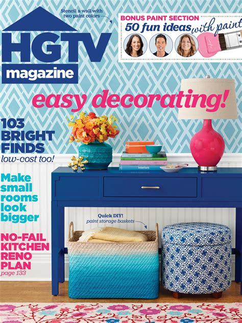 Decorating Ideas Magazine by Hgtv Magazine May 2015 Hgtv