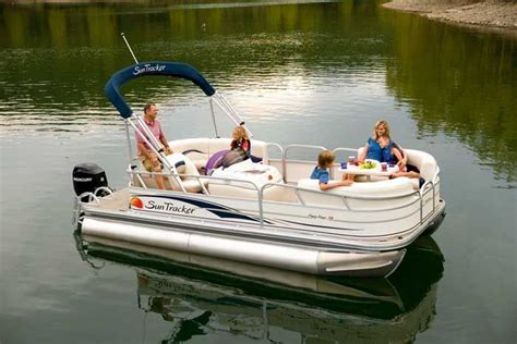 Tracker Boats Reliability by Wkp Knowing How Easy Is It To Sink A Pontoon Boat