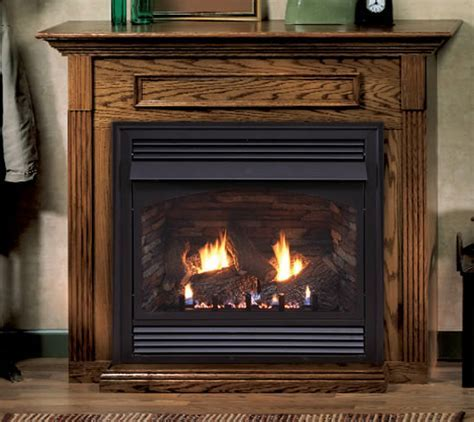 Vail 32 inch Fireplace System with Slope Burner Design