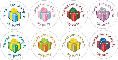 coming   party stickers ebay