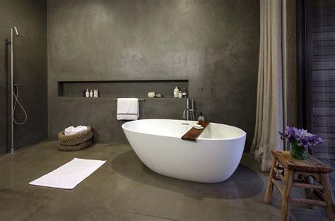 Beton Fliesen Bad by 45 Magnificent Concrete Bathroom Design Inspirations