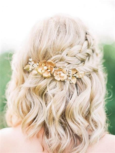 collection  cute wedding hairstyles  short hair