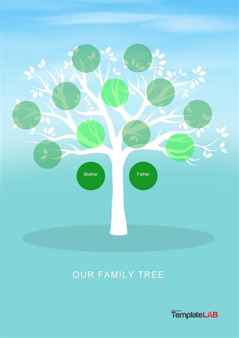 The free versions are available in pdf format: 41+ Free Family Tree Templates (Word, Excel, PDF) ᐅ TemplateLab