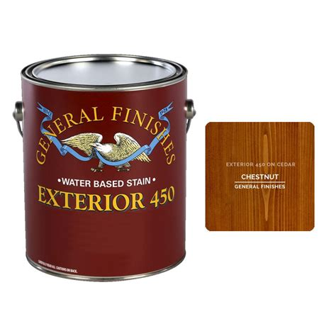 Water Based Exterior Stain