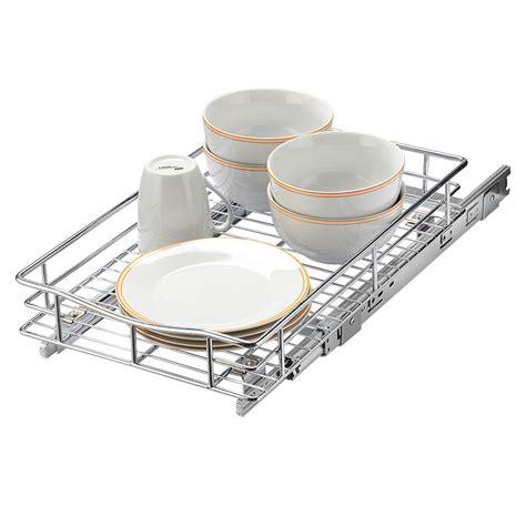 kitchen   cabinet basket organizer drawer pull   cabinet sliding shelf