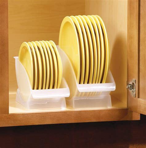 pc set  space saving plate storage cradles ebay