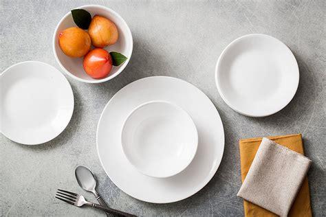 dinnerware sets corelle piece amazon service frost winter livingware break storage resistant dinner glass dishes plates kitchen tableware pc marshmallowchef