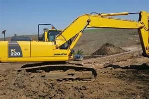 2014 Komatsu Pc220 Excavators Machinery For Sale In