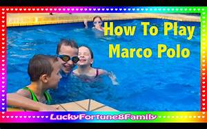 How To Play The Marco Polo Swimming Pool Game - YouTube