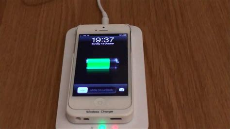 iphone qi charging iphone 5 wireless qi charging review