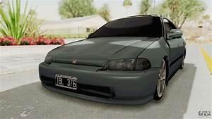 Honda Civic Si Sedan 1992 For Gta San Andreas