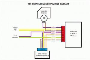 405 One Touch Electric Window Fitting Guide