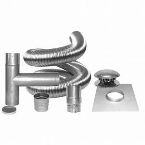 Gaine Ventilation Flexible : ensemble de gaine de chemin e 6 po rona ~ Edinachiropracticcenter.com Idées de Décoration