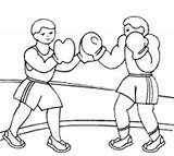 Boxing Coloring Pages Printable Sport Boxer Sports Colouring Print Boxers Sheets Tree Alex Morgan Boy Adults Activities Related Posts Books sketch template