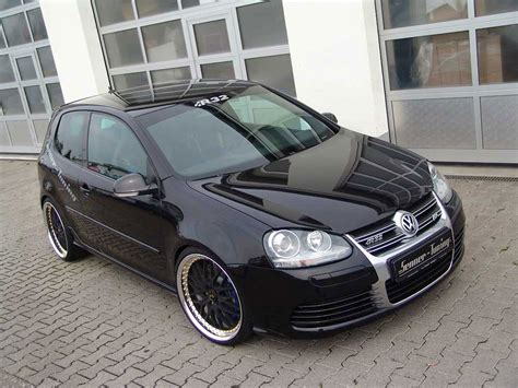 volkswagen black vw golf r32 black
