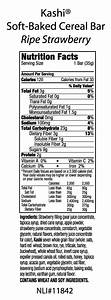 Kashi Cereal Bars Nutritional Info - Nutrition Ftempo