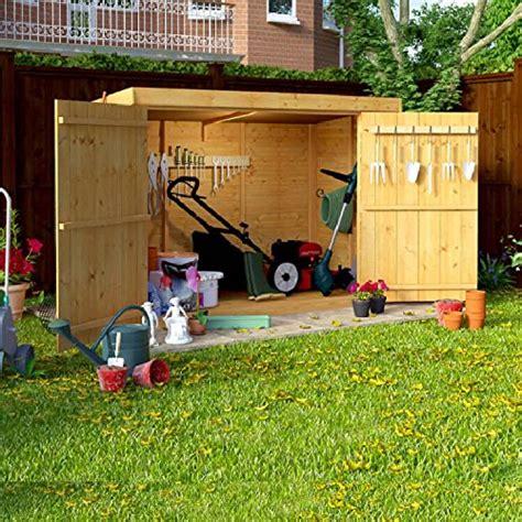 garden bike sheds storage 6 215 3 overlap wooden pent bike storage door shed