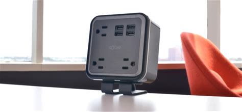 desk with power outlet removable desktop power and data hubs