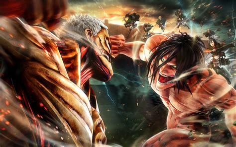 wallpapers attack  titan   battle