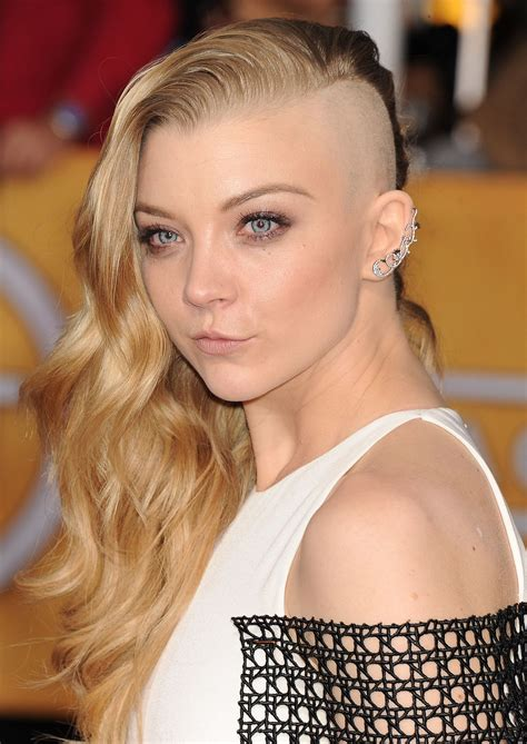 natile dormer natalie dormer wears marios schwab at 2014 sag awards