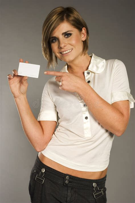 business credit card stock image image  holding
