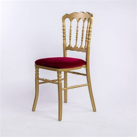Mariage Chaise Napoleon by Chaise Napoleon Iii Dor 233 E Galette Rouge Direct Fabricant
