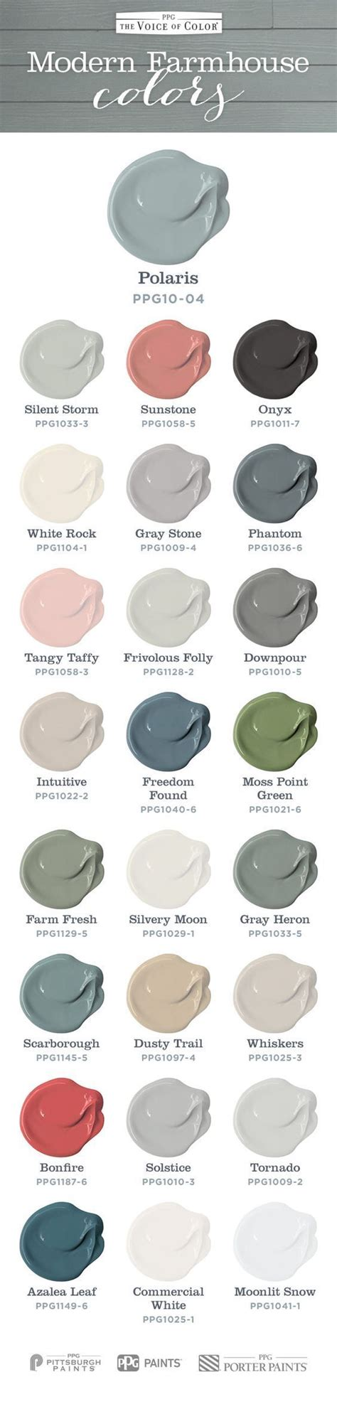voice of color modern farmhouse colors from voice of color fynes designs
