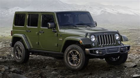 Jeep Wrangler Unlimited 75th Anniversary (2016) Wallpapers