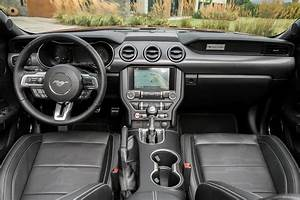 2021 Ford Mustang Convertible Interior Review - Seating, Infotainment, Dashboard and Features ...