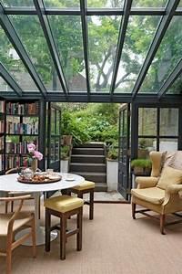 Wintergarten Einrichtung Modern : la verri re de toit la meilleure option pour une maison ~ Michelbontemps.com Haus und Dekorationen
