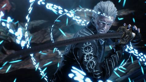 Only the best hd background pictures. Devil May Cry 5, Vergil, Katana, 4K, #163 Wallpaper