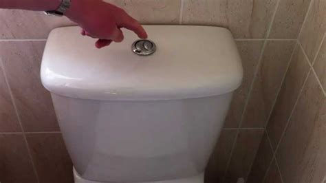 to flush the toilet how to fix a wasteful filling dual push button flush toilet