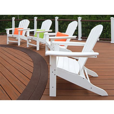 trex adirondack chair kits trex outdoor furniture cape cod adirondack chair set of 4
