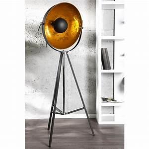 Stehlampe Studio Schwarz Gold : stehleuchte spot schwarz gold stehlampe schwarz gold ~ Bigdaddyawards.com Haus und Dekorationen